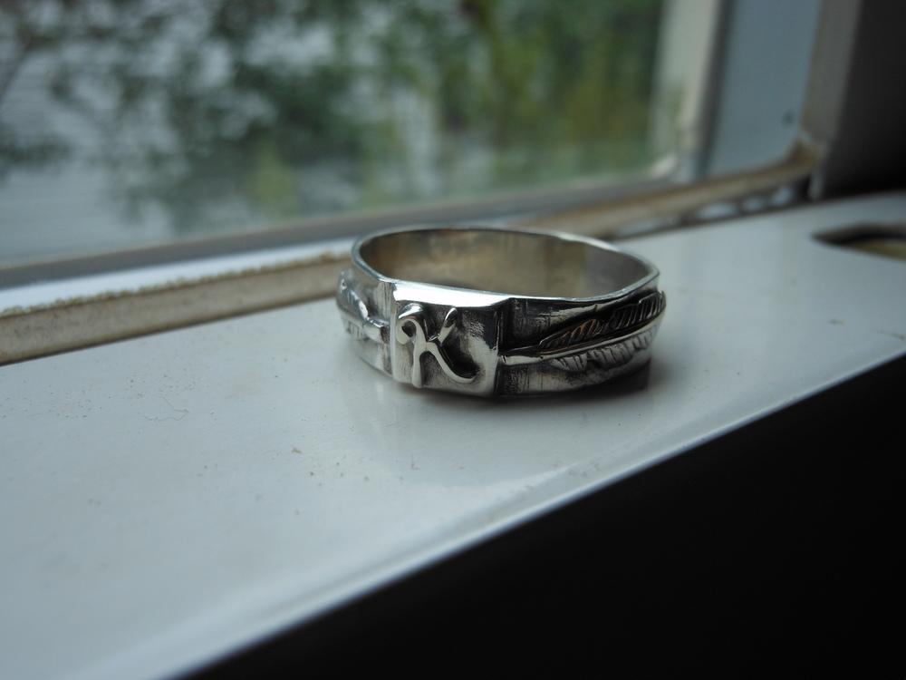 Signet Ring Sterling Silver $150