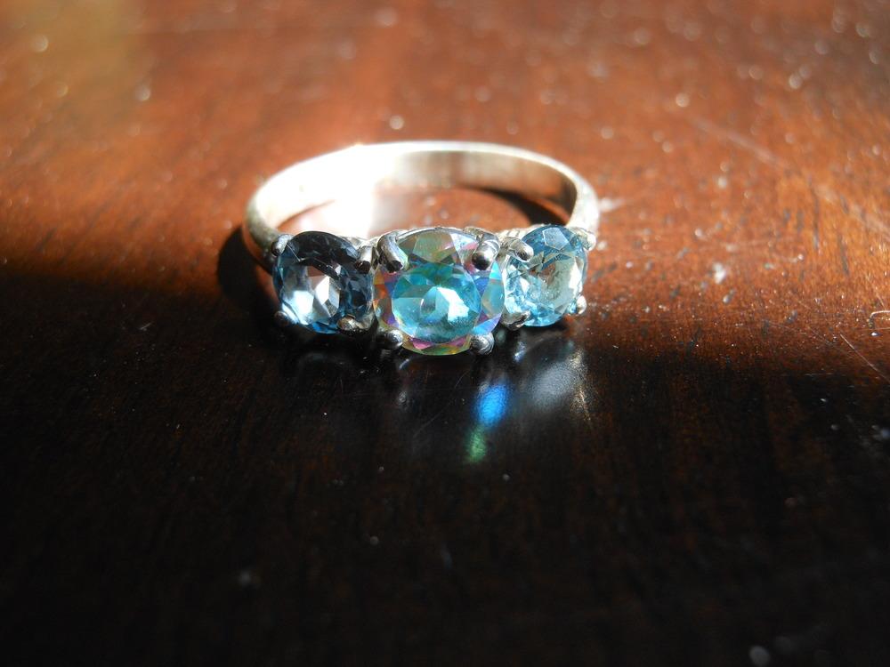 Topaztic Ring $225