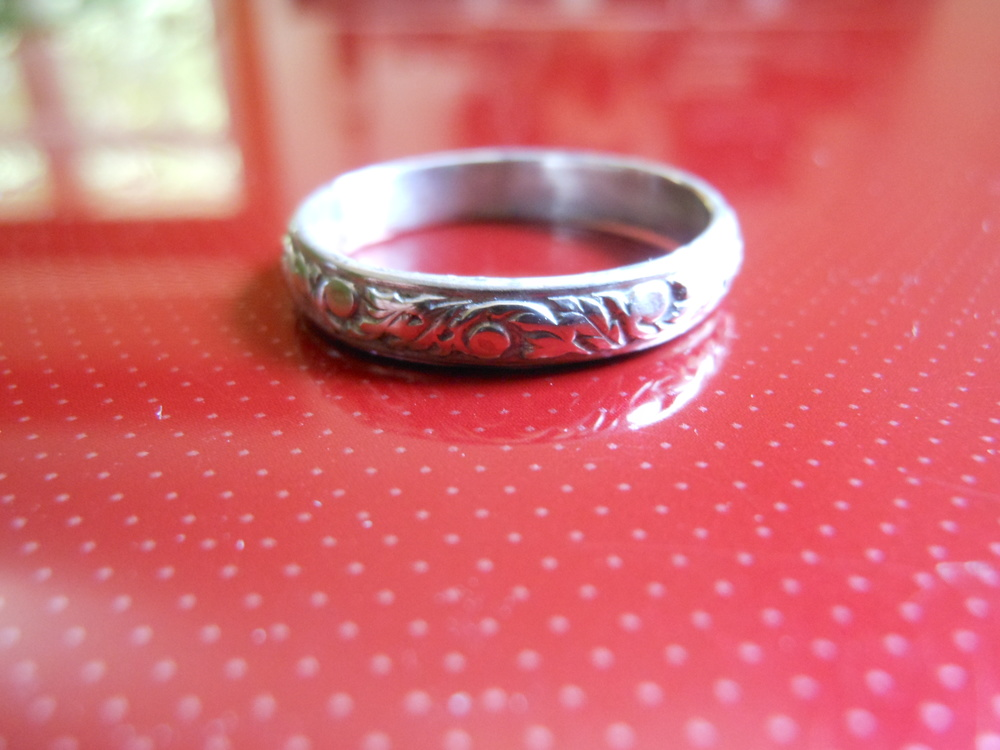 Simple Scroll Ring $25