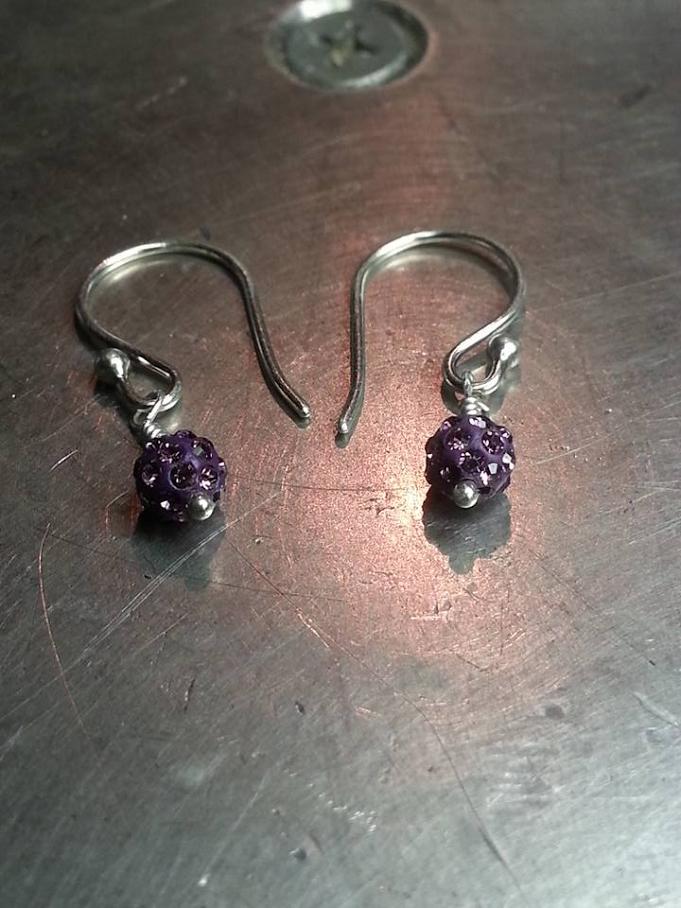 Swarovski Crystal Bead Earrings $ 50.00