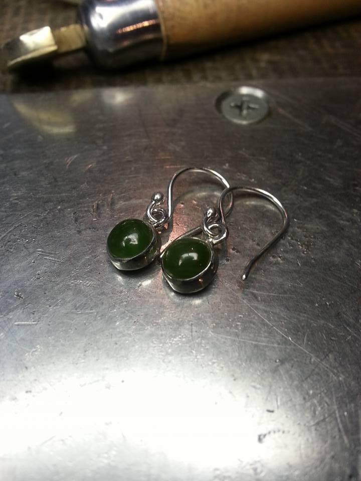 Jade Earrings $125