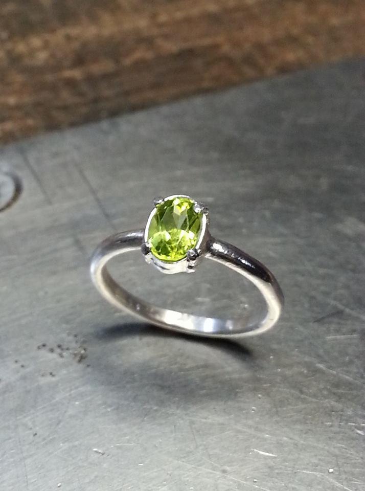 Peridot Symplicity Ring $150