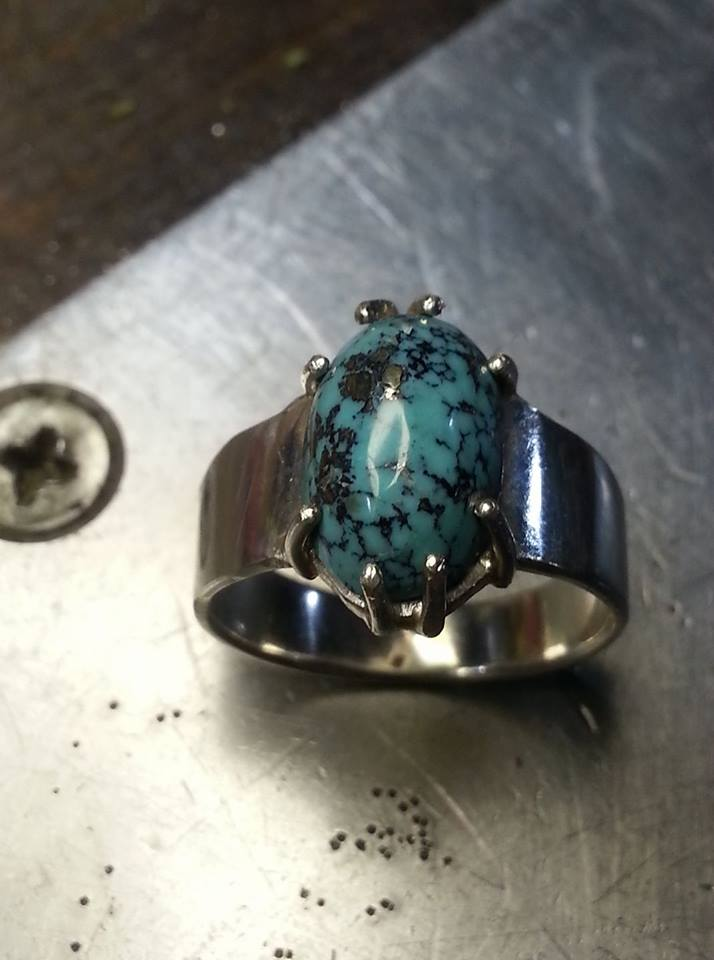 Eight Claws Tur Cabochon $300