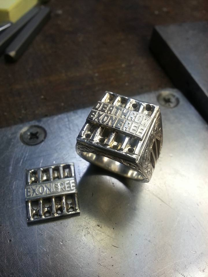 Exonerated ring $125 each DONATE TODAY