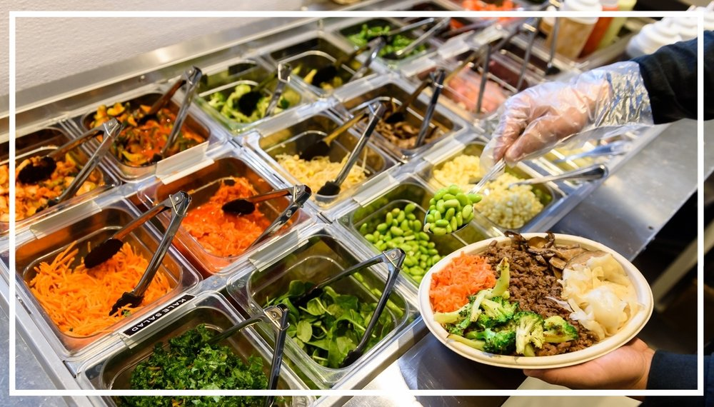 Variety - Gluten free? Vegetarian? Vegan? Pescatarian? With our fully customizable menu of rices, veggies, proteins, and sauces you can try millions of combinations!