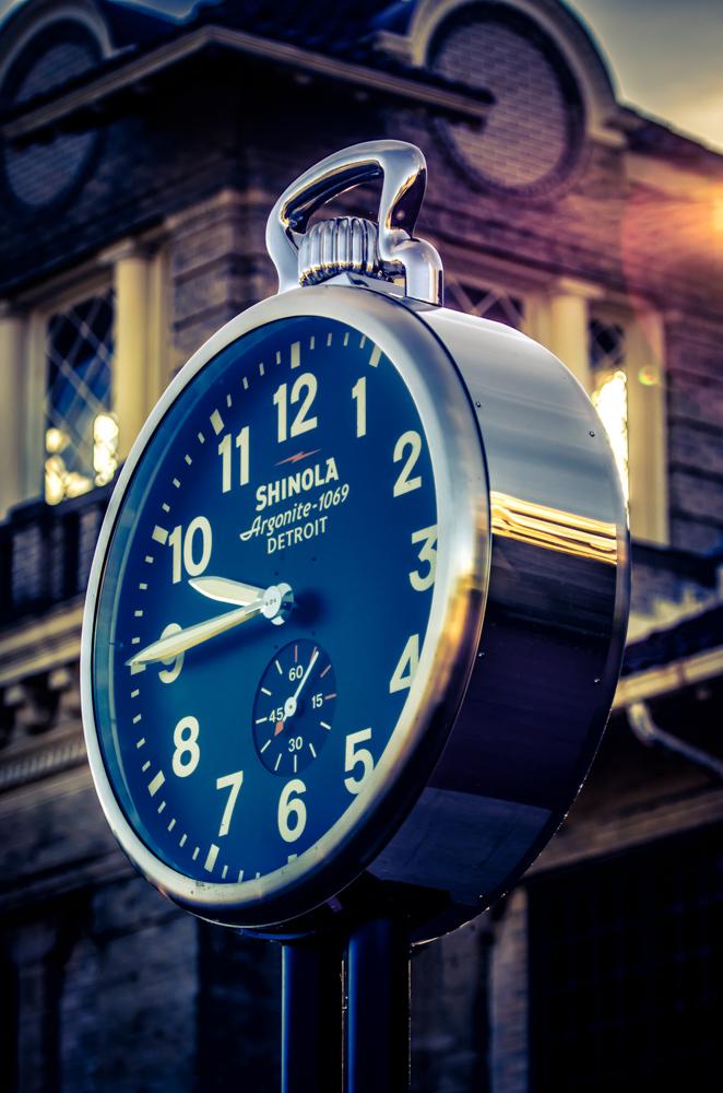 Shinola Clock Belle Isle Detroit