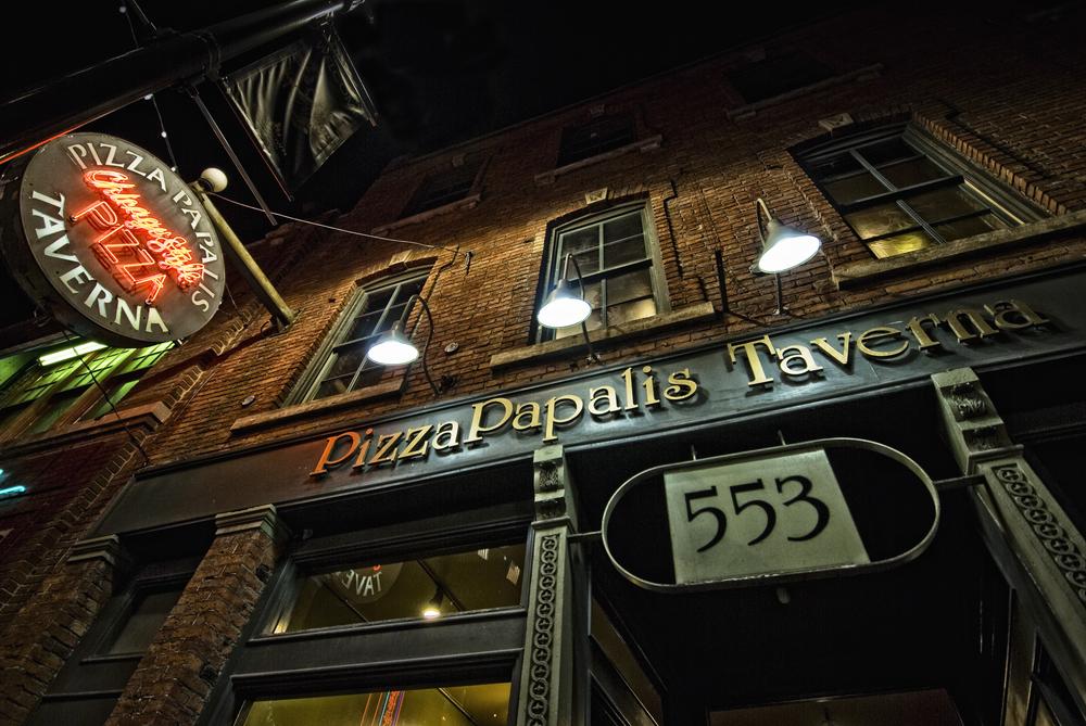 Pizza Papalis Tavern Detroit
