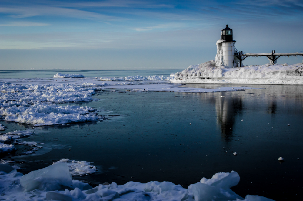 Winter at St. Joseph's Lighthouse