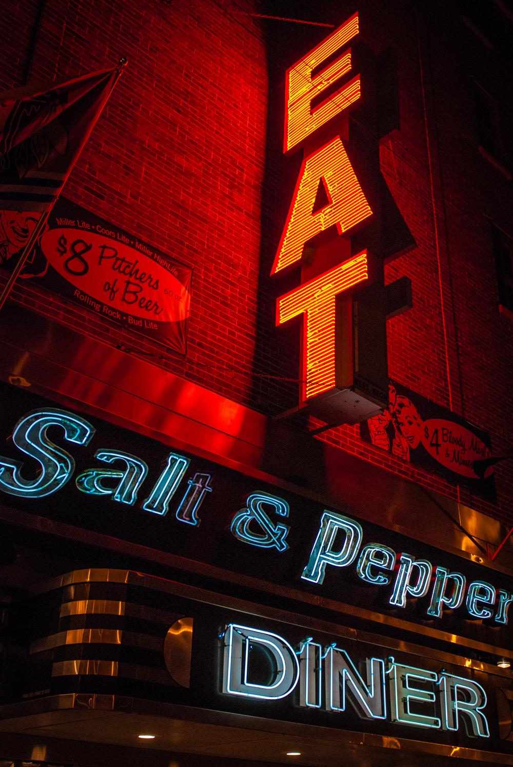 Diner in Chicago