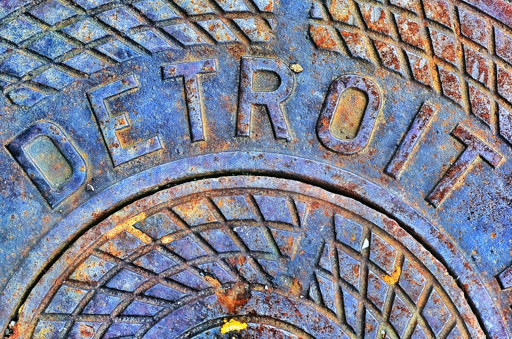 Original Detroit Manhole