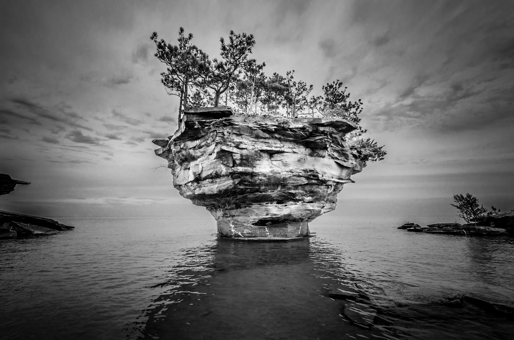 Turnip Rock near Port Austin