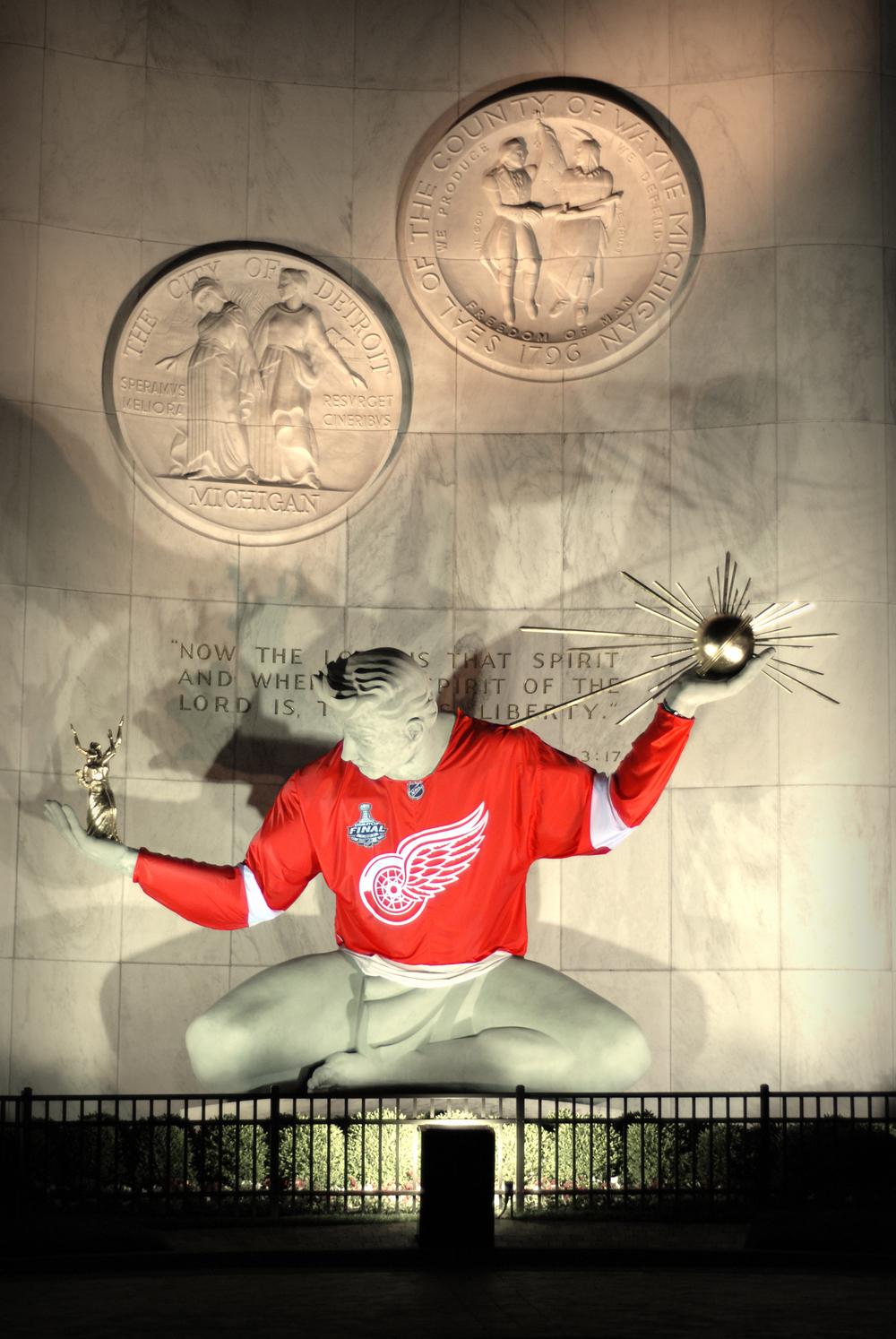 Red Wings Spirit of Detroit