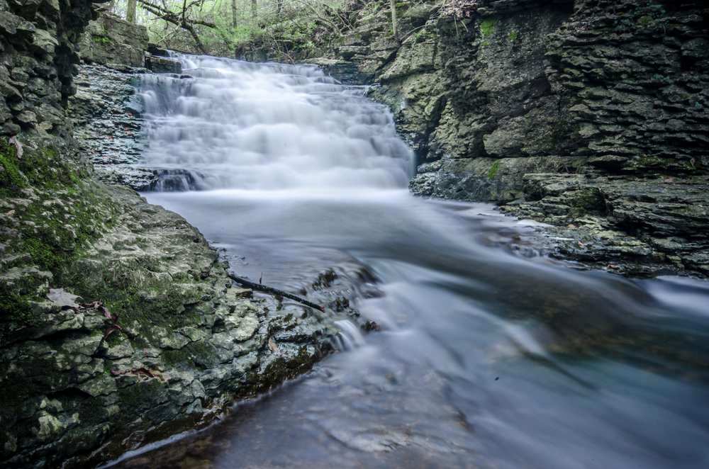 Waterfall in Columbus