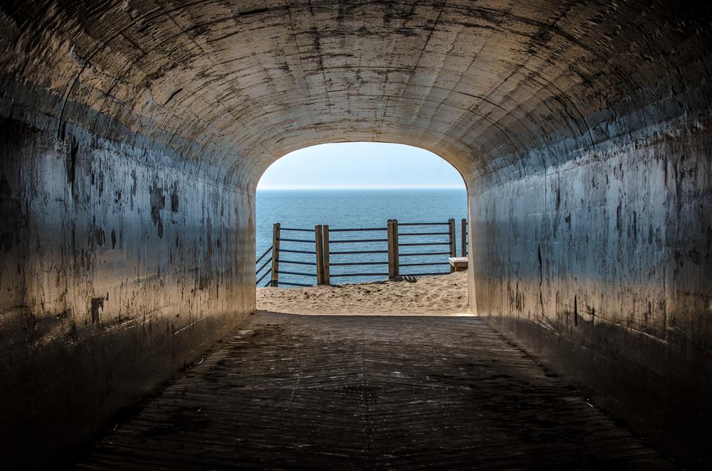 Hallway to Lake Michigan