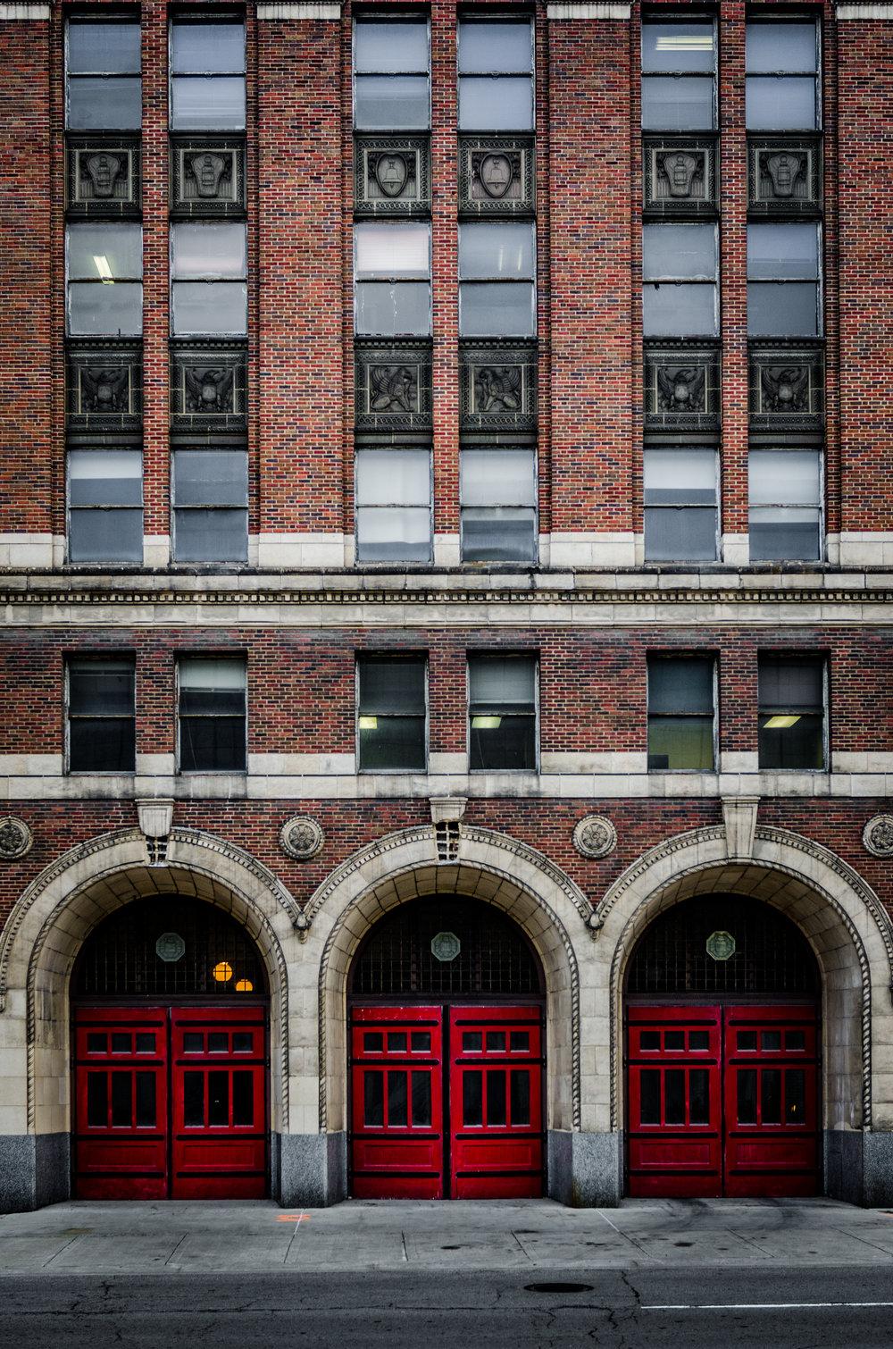 Detroit Fire Station HQ