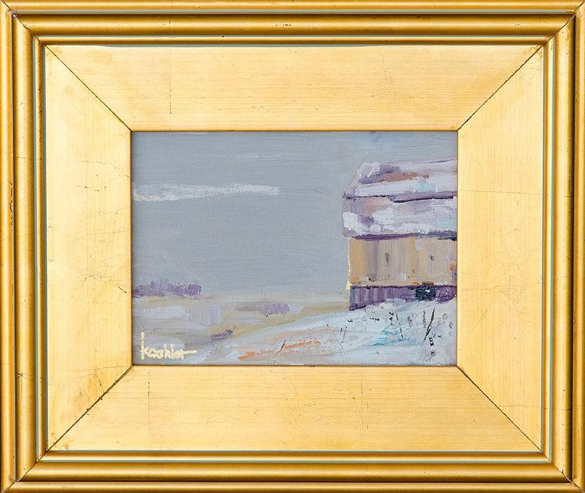 Snow Barn #1