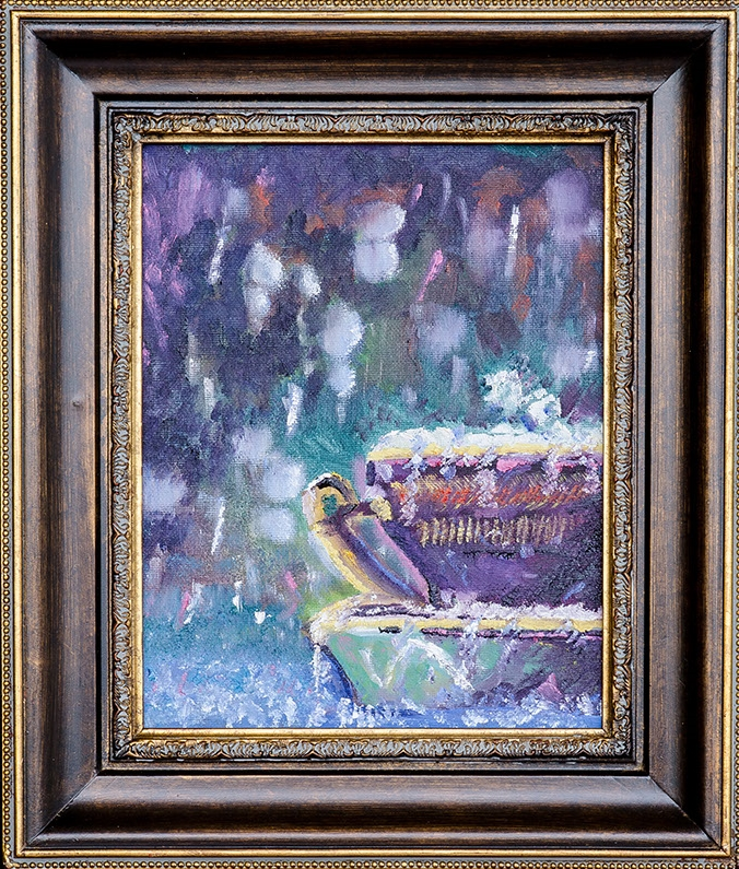 Teacup in the Rain