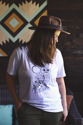 LUNA OWL TEE