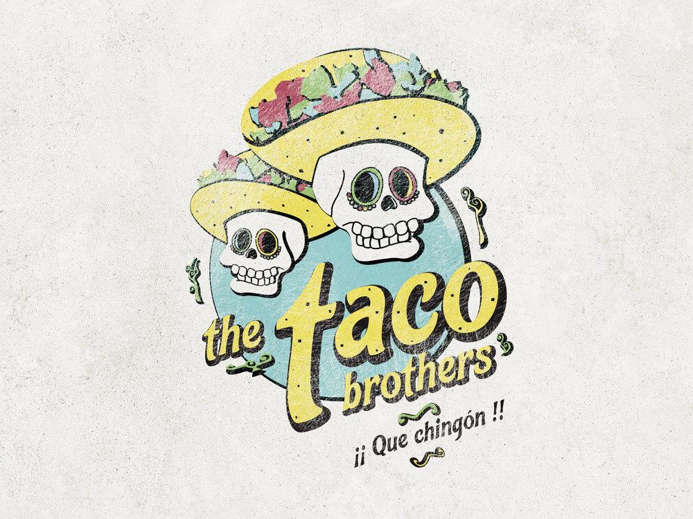 Logo for a taqueria.