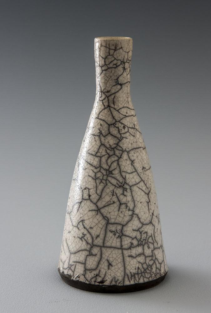 Raku Bottle