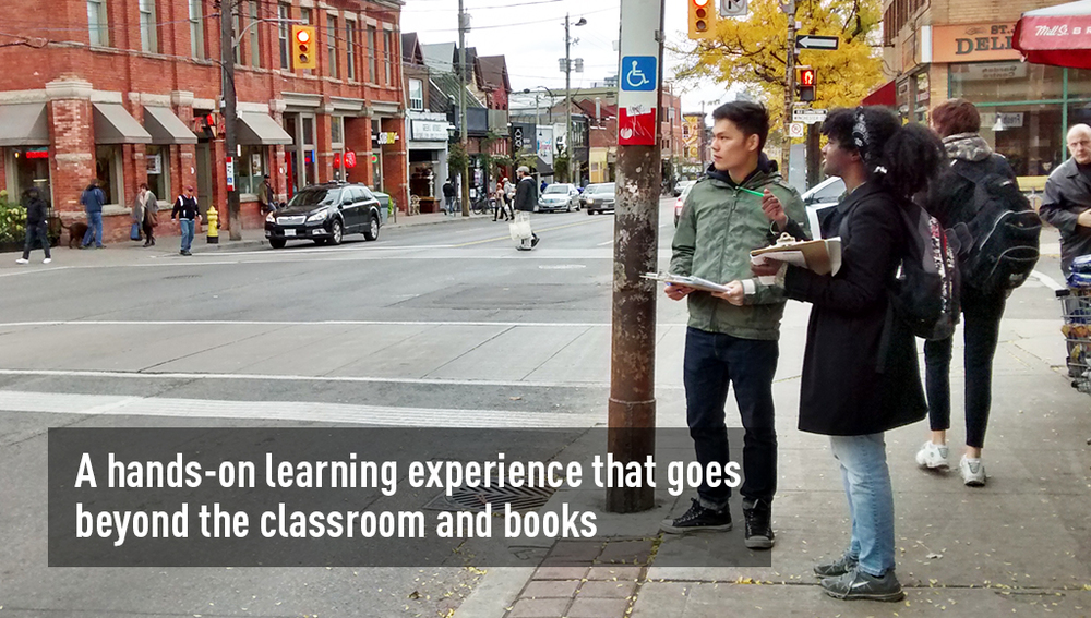 A hands-on learning experience that goes beyond the classroom and books