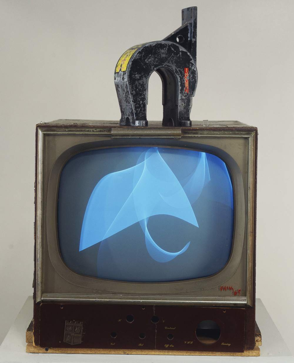 Magnet TV, by Nam June Paik, 1965