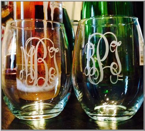 Glassware - Sandcarved Glassware