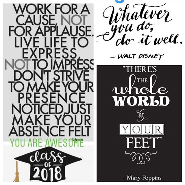 Class of 2018! Congrats! You made it! Be proud of yourself! Now go do AMAZING things! 👩‍🎓👨‍🎓#thejourneybegins #yourmountainiswaiting #classof2018 #ohtheplacesyoullgo #nextchapter #graduation #darnellsfunstuff