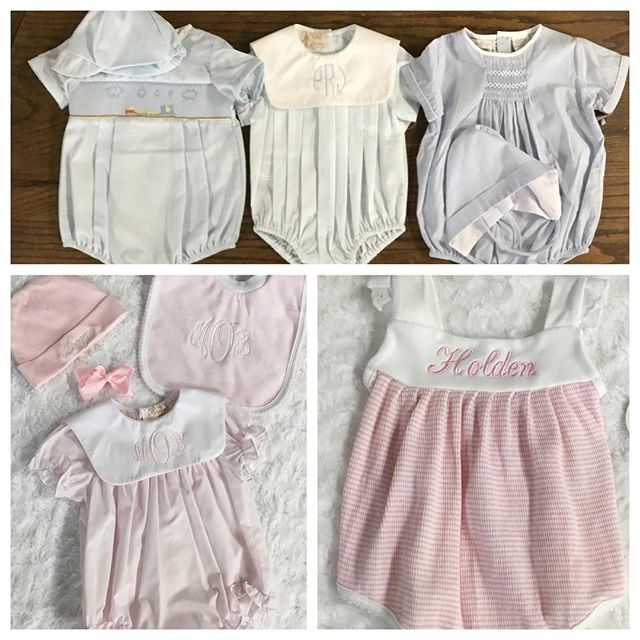 Best Dressed Babies! We love our baby department, great selection and NEXT DAY monogramming! Come see us! #paty #feltmanbrothers #kissykissy  #bestdressedbaby #darnellsfunstuff #shoplocal