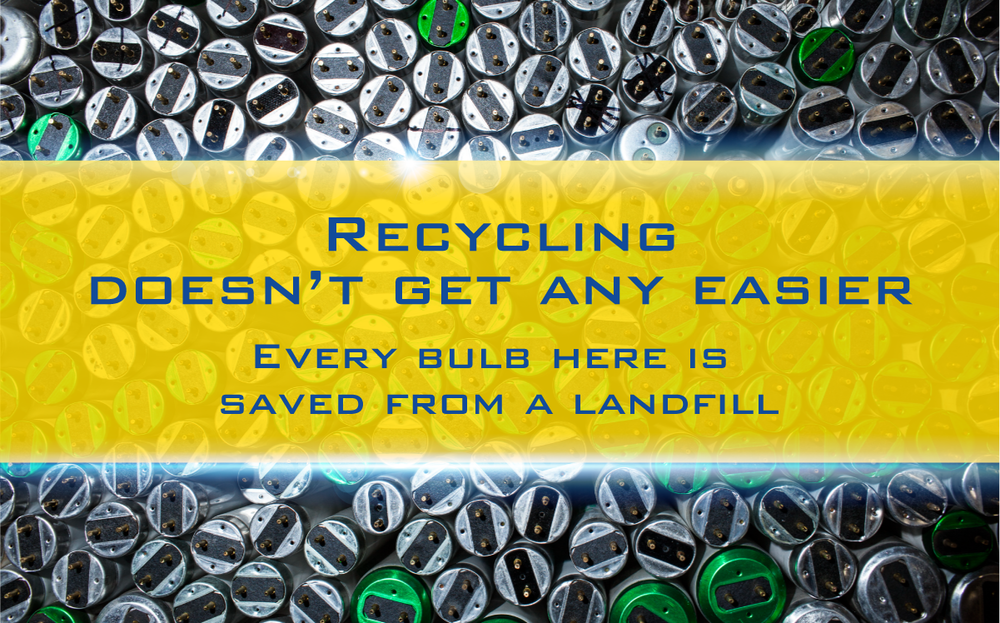 Recycle lighting,  commercial, Willamette Valley, Century Lighting Oregon,