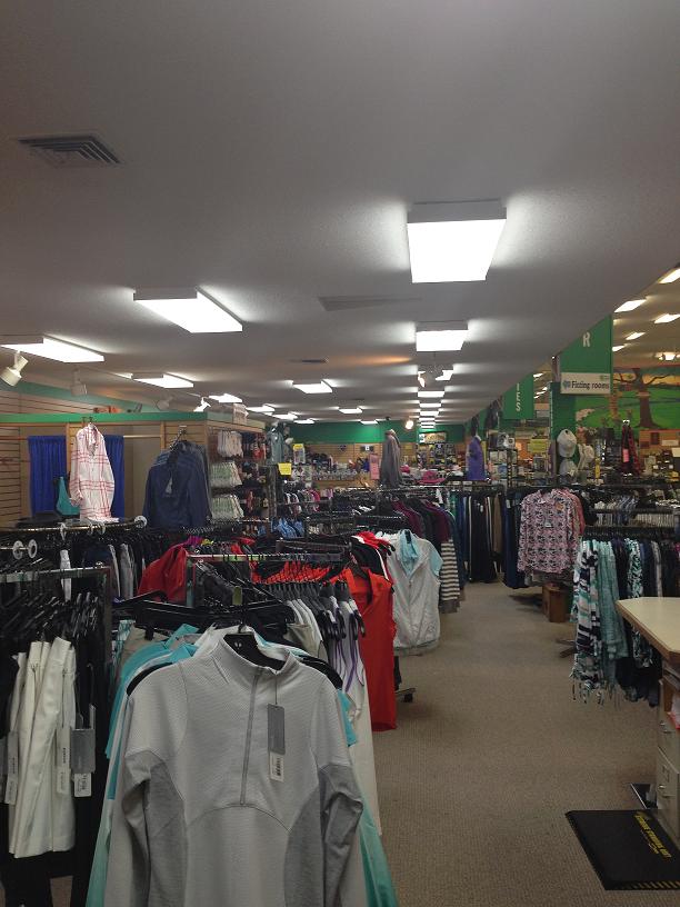 retail store light, eugene, springfield