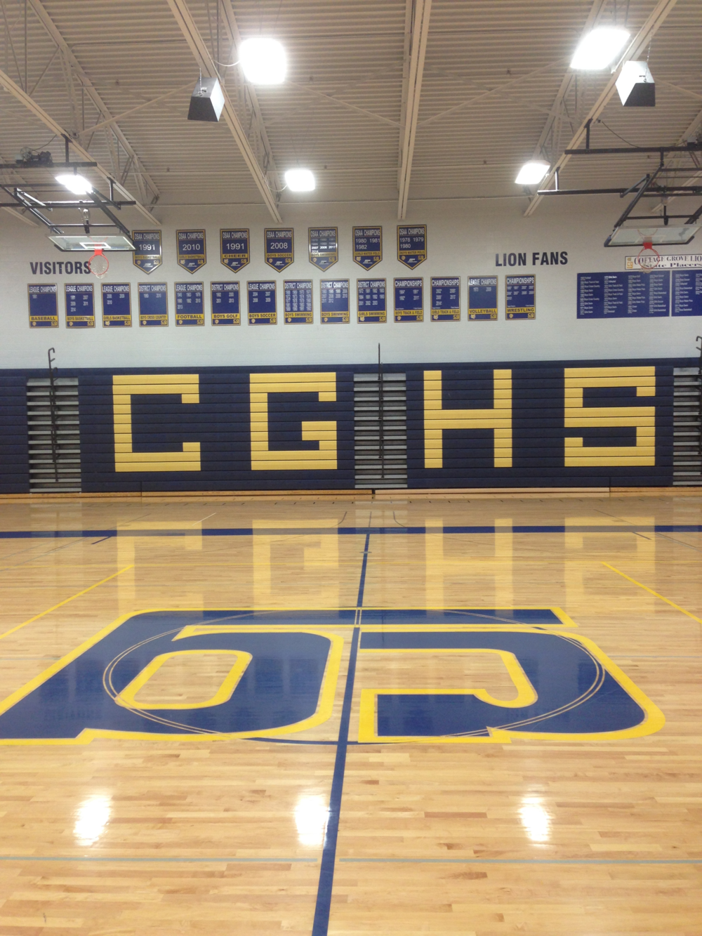 Commercial Lighting LED Upgrade for School Gymnasium