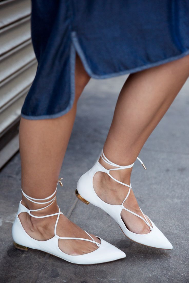 closetPIECE | Lace Up Heels
