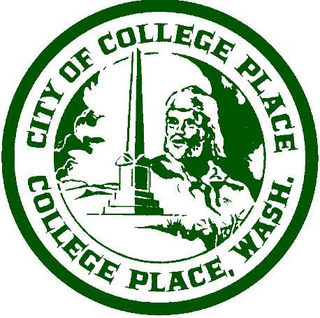 The current City of College Place logo.