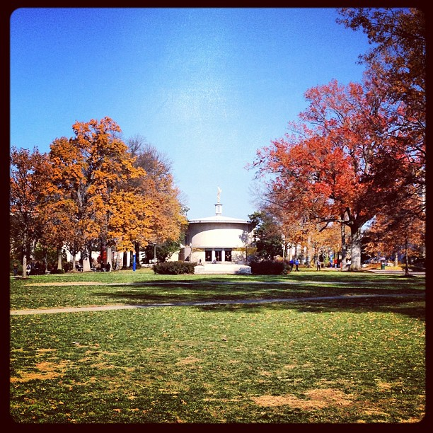 American University's campus in November of 2012.