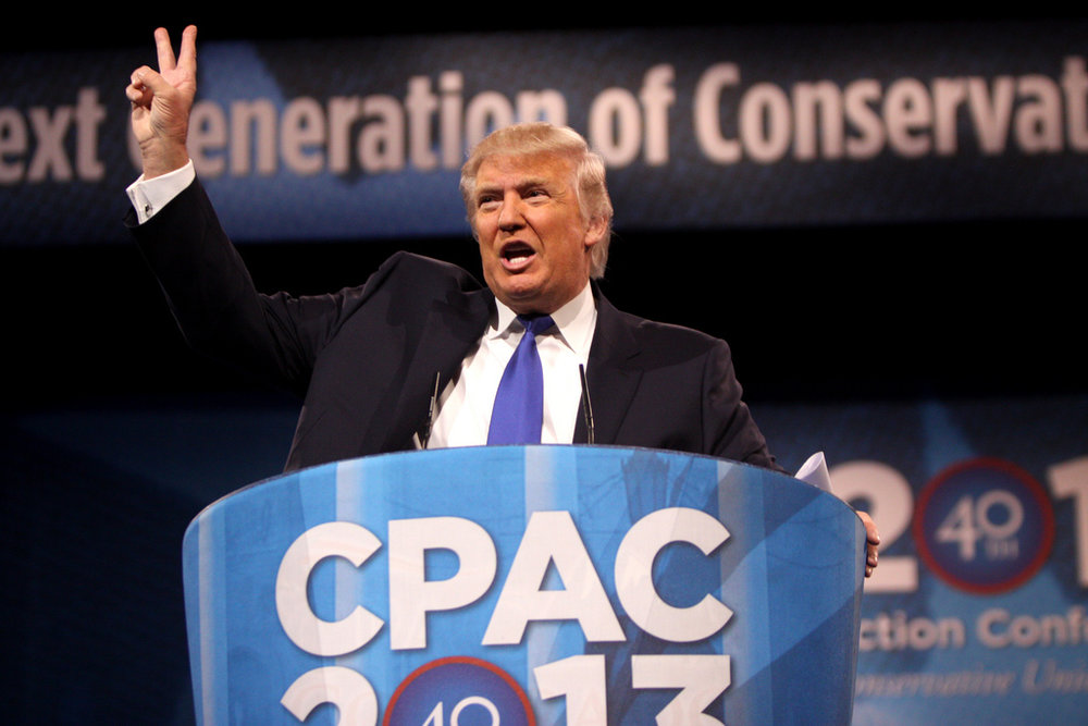 Donald Trump speaks at CPAC at the height of his 'birtherism' fame