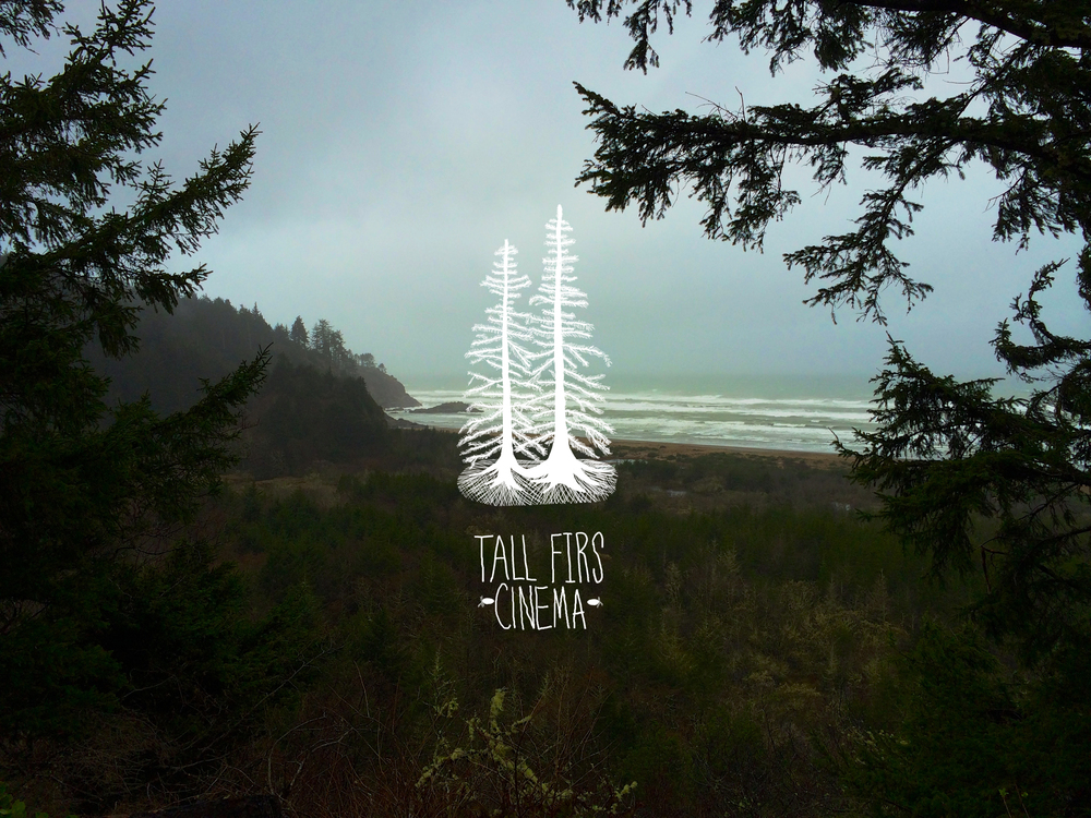 Alternate version of the Tall Firs Cinema logo.
