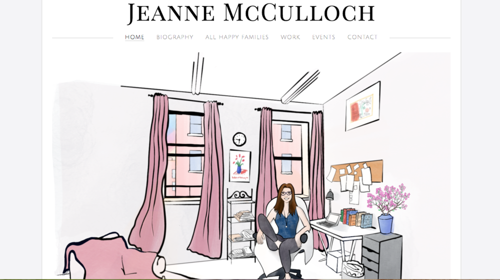 Illustrations and website created for author and editor Jeanne McCulloch:  https://www.jeannemcculloch.com/