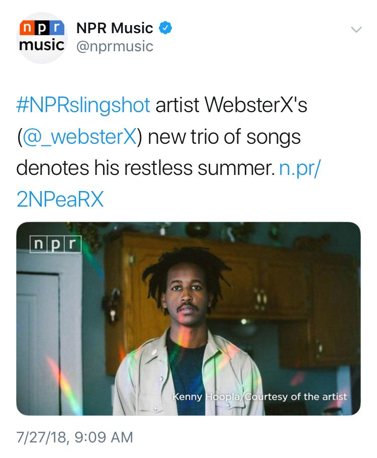 WebsterX NPR