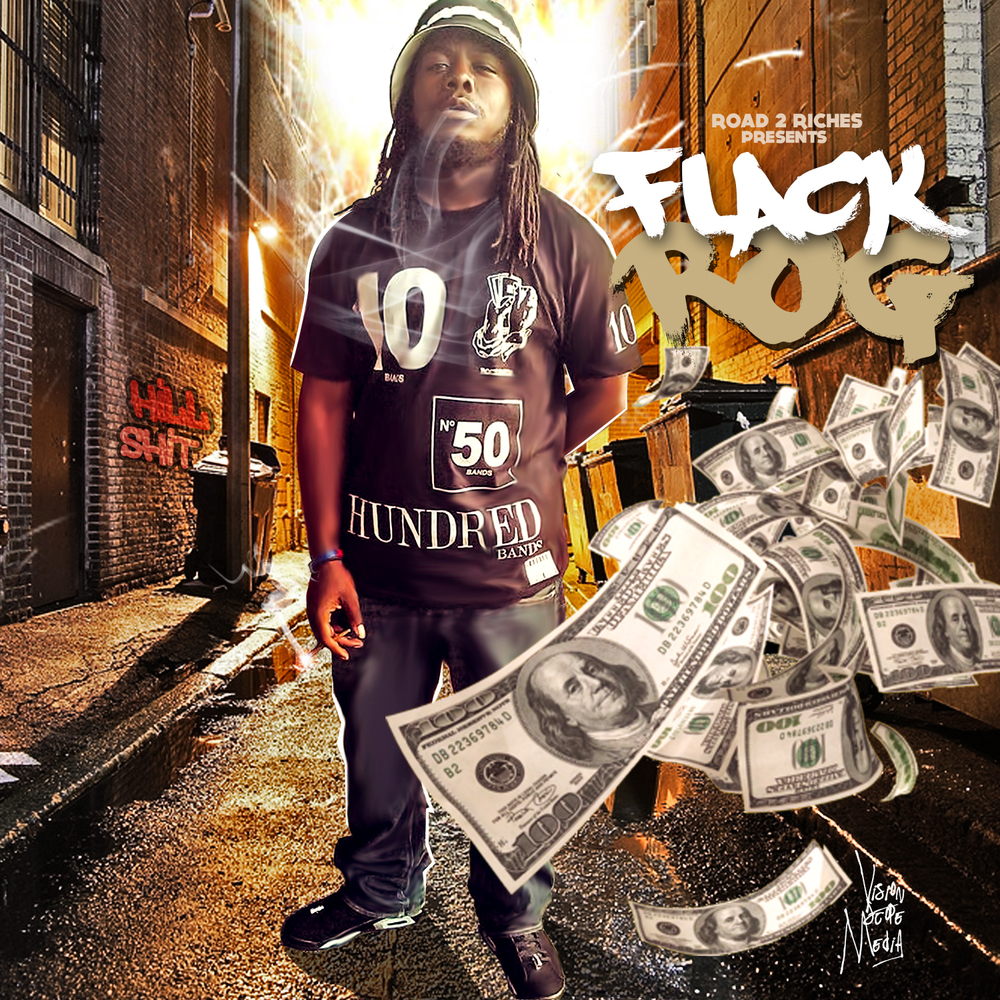 Flack Rog Mixtape Cover Designed by Vision Scope Media