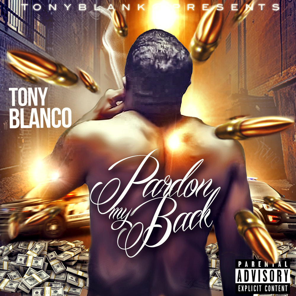 Mixtape Cover Designed for Tony Blanco