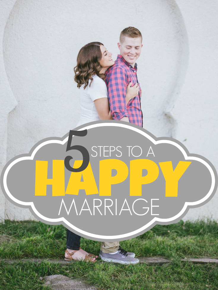 5 Steps To A Happy Marriage | A Dash of Salter