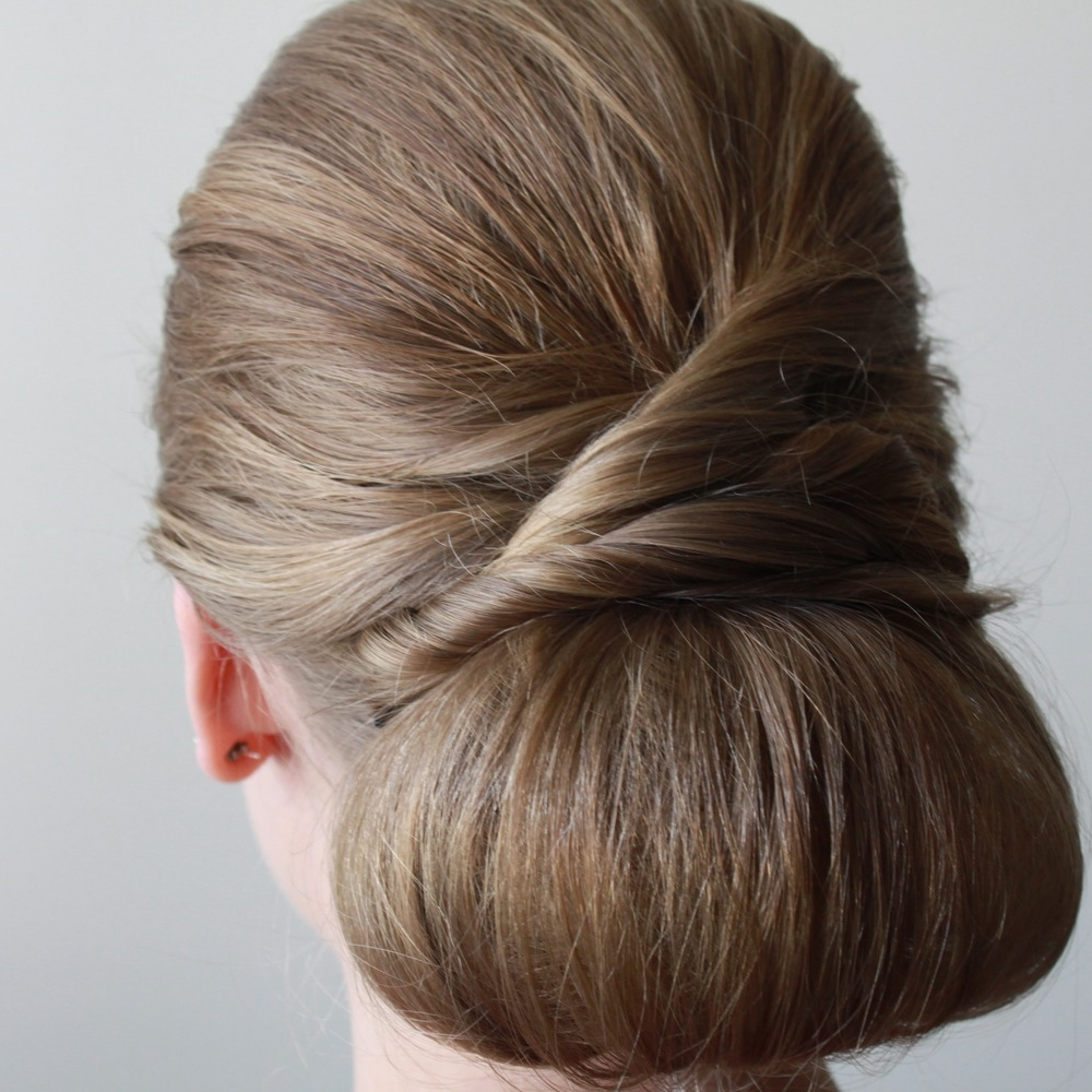 Sheina | Twisted Glam Chignon | Styled By Cheree | A Dash of Salter