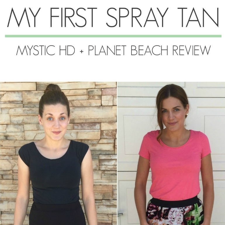 My First Spray Tan Mystic Hd Planet Beach Review A Dash Of Salter