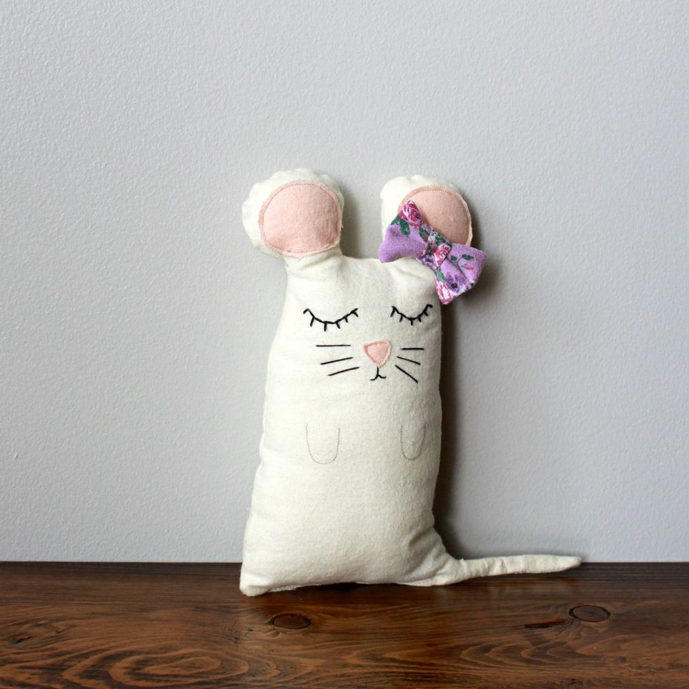 Aria the Mouse || Plush Toy || Stuffed Animal || ADOS SHOP ETSY