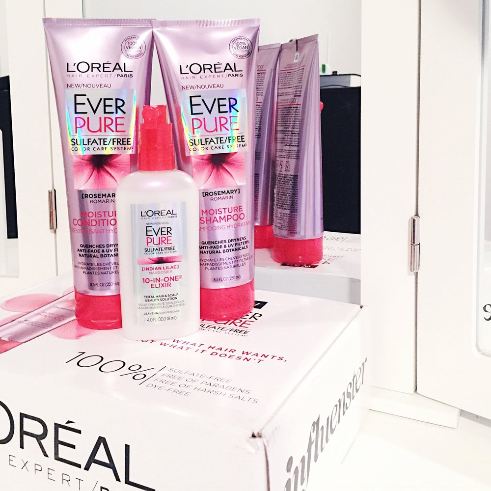 My First VoxBox || L'Oréal EverPure Color Care System Review