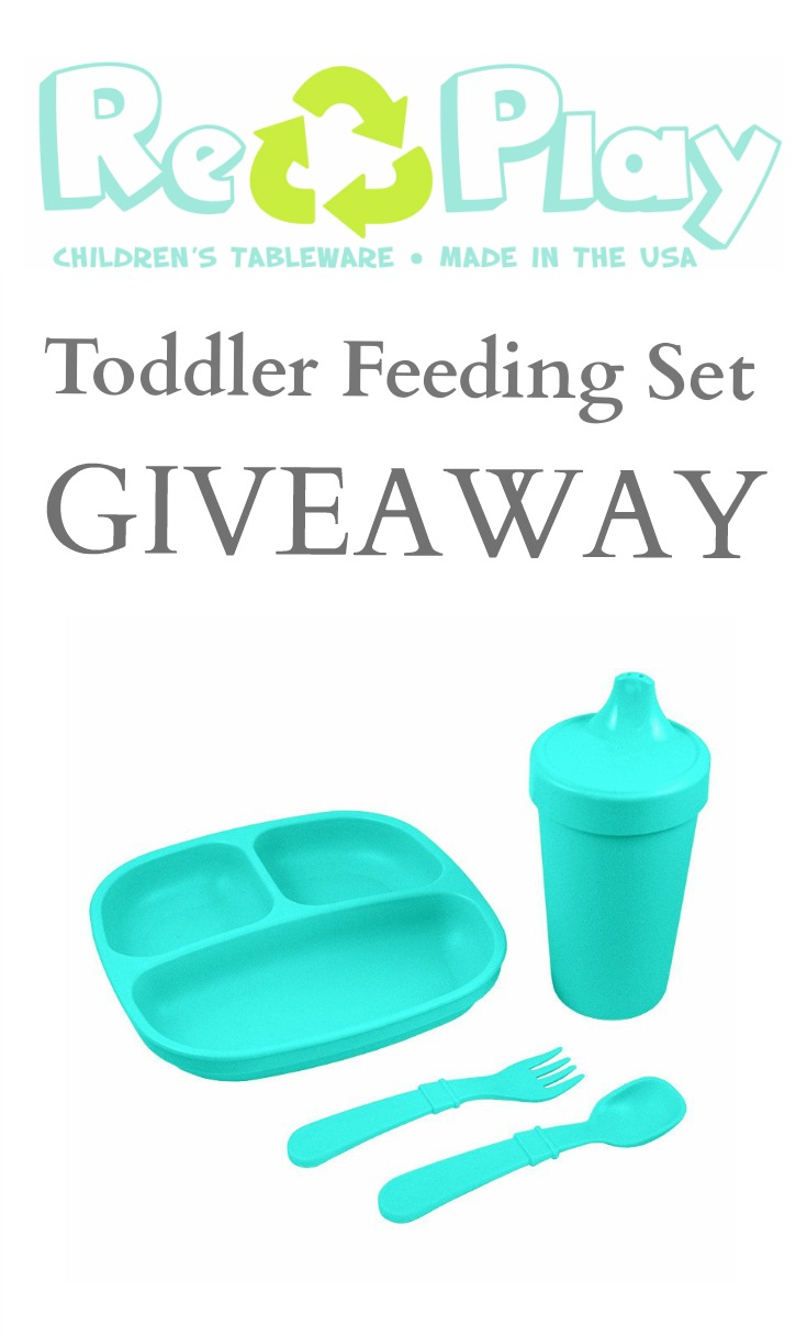 Re-Play Recycled Feeding Set Giveaway!