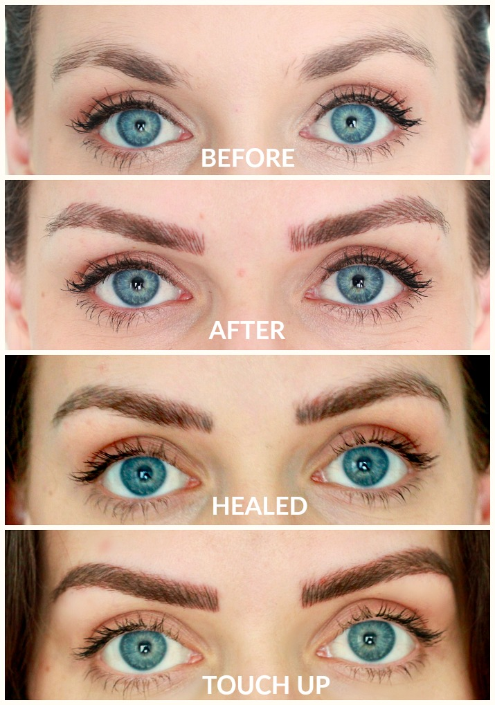 Microblading Review | Before and After photos | Microblade Me LLC Jaclyn