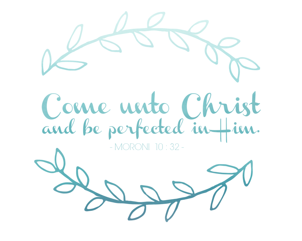 Come unto Christ and be perfected in Him. - Moroni 10:32, Jeffery R. Holland | General Conference Quote | October 2017