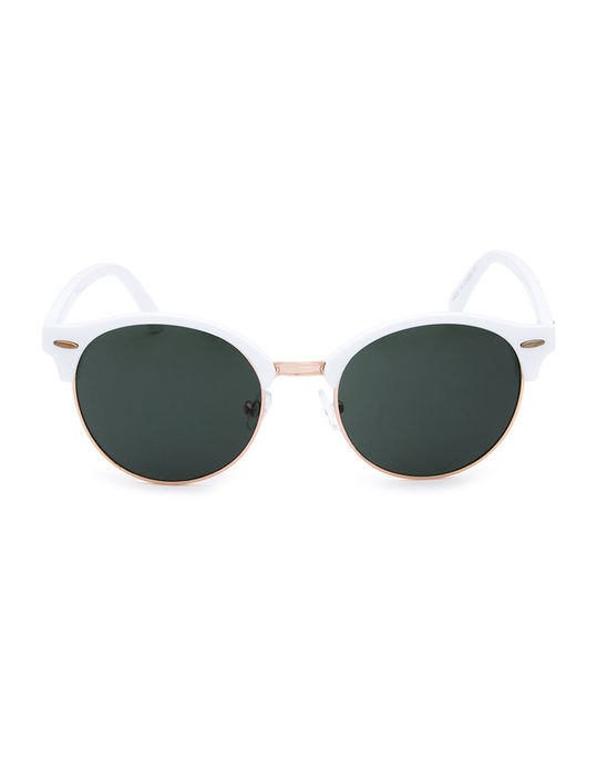 Retro White Sunglasses